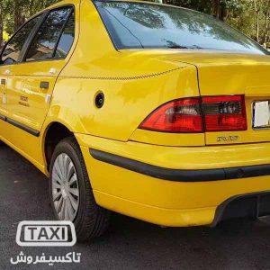 تاکسی فروش,فروش تاکسی سمند EF7 در حد صفر ,خرید و فروش تاکسی در تهران,قیمت تاکسی سمند EF7 در حد صفر در تهران