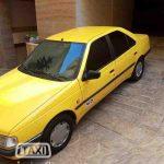 فروش تاکسی پژو 405 بین شهری