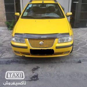 تاکسی فروش,فروش تاکسی سمند EF7 گازسوز ,خرید و فروش تاکسی در تهران