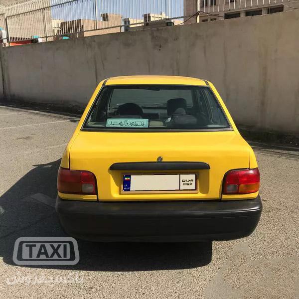 فروش تاکسی پراید گازسوز مدل 87