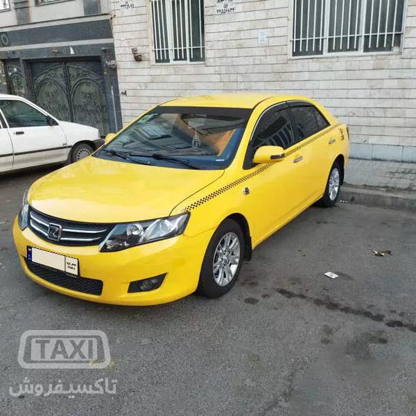 فروش تاکسی آریو اتوماتیک مدل 96