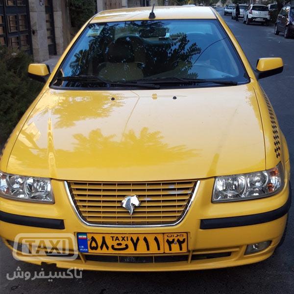 فروش تاکسی سمند گردشی مدل 95