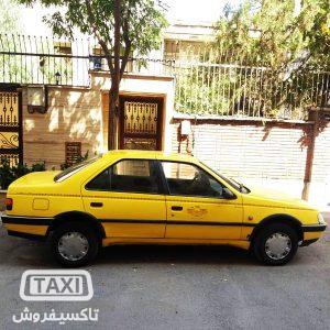 فروش تاکسی پژو خطی مدل 91