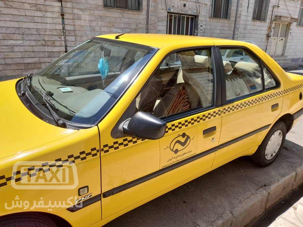 فروش تاکسی پژو 405 مدل 95 تمیز