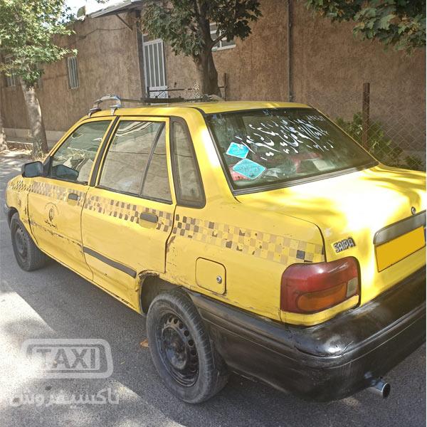 فروش تاکسی پراید مدل 86